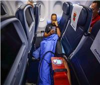 دوري أبطال إفريقيا| جلسة استشفاء لـ«وليد سليمان» في الطائرة