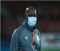 دوري أبطال إفريقيا| موسيماني يحاضر لاعبي الأهلي قبل المران الأول بالمغرب