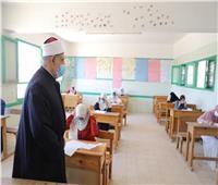أزهر المنيا: 863 طالب وطالبة يؤدون امتحانات البلاغة