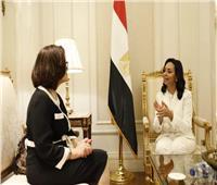 مايا مرسي تلتقي نظيرتها التونسية.. وتؤكد: نتطلع لتعزيز التعاون المشترك للنهوض بالمرأة