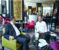 سفير مصر بالمغرب يزور بعثة الأهلي ويلتقي «الخطيب»