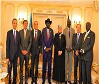 رئيس جنوب السودان يستقبل وزيري «الصناعة والتموين» بالعاصمة جوبا
