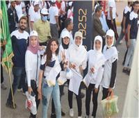 """1200 طالب يشاركون فى """"اليوبيل الذهبي"""" لجامعة سوهاج"""