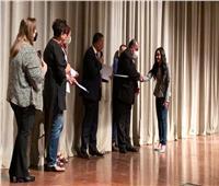 تكريم طلاب كليات الفنون والتربية الفنية بجامعة حلوان