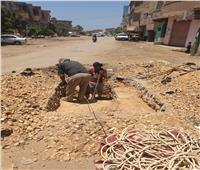 حل مشاكل الهواتف الأرضية في قرية الجابرية بالمحلة