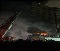 من الطابق الـ14.. الحماية المدنية تنجح في إخلاء سكان حريق عقار الطالبية