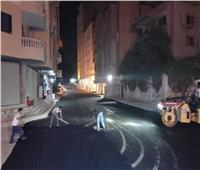 رصف شارع محمد سالم واستكمال شارع الخليفة بحي الطالبية