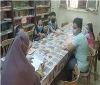 مسابقات ثقافية للأطفال في بيت ثقافة النخيلة
