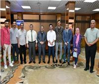 جامعة القناةتشارك في فعاليات اللقاء القمي السابع للطلاب المثاليين