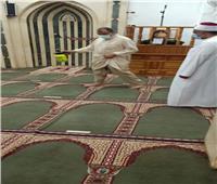 حملات مكثفة لتطهير وتعقيم المساجد بالدقهلية استعدادًا لصلاة عيد الأضحى