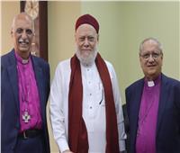 مطرانا الأسقفية يهنئان الشيخ علي جمعة بعيد الأضحى