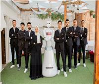 طلاب «هندسة المنصورة» يدشنون أول روبوت مصري طبي