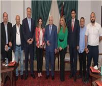 الرئيس أبو مازن يستقبل فريق عمل برنامج «بيت للكل»