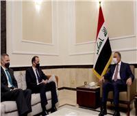 رئيس مجلس الوزراء العراقى يستقبل الوفد الحكومي الامريكي
