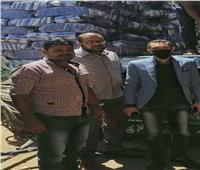 ضبط 75 طن أرز مغشوش وغير مطابق للمواصفات بمحافظه سوهاج