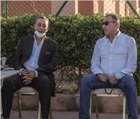 دوري أبطال إفريقيا | سفير مصر بالمغرب يحضر مع الخطيب مران الأهلي