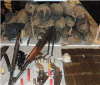 القبض على 244 متهمًا بـ45 كيلو مخدرات و176 مسلحًا وتنفيذ 81 ألف حكم