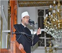 """وزير الأوقاف في خطبة الجمعة: """"أكثر من مائة مليون مصري مع الرئيس"""""""