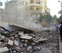 مصرع شخص في انهيار شرفة عقار بحي الجمرك بالإسكندرية