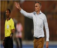 «كارتيرون» يطمئن على لاعبي الزمالك في المنتخب الأوليمبي