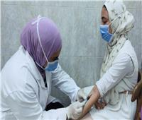 «حياة كريمة»| توقيع الكشف الطبي على 1101 مريض بميت فارس في بركة السبع