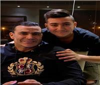 """الحضري يحتفل بعيد ميلاد ابنه ياسين: """"حبيبي واخويا وصاحبي"""""""