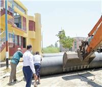 بنية أساسية وأنشطة اقتصادية لأهالي القرى ضمن مبادرة حياة كريمة فى الدقهلية