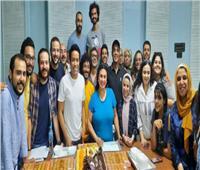 أسرة مسلسل «بيت العز» تحتفل بالموسم الجديد