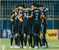 بيراميدز يسجل الهدف الأول في شباك المقاولون العرب