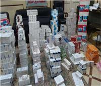ضبط 13 ألف عبوة أدوية مهربة جمركيًا داخل صيدلية بالجيزة
