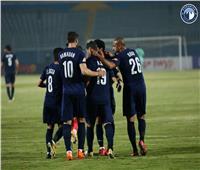 الدوري الممتاز   بيراميدز يضرب المقاولون العرب بهدفينفي الشوط الأول