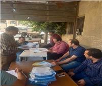 متابعة الحملات الميكانيكية بمدينة وقرى بركة السبع