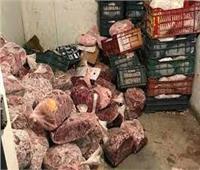 المعمل الجنائي يفحص 34 طن لحوم غير مخصصة للبيع بالجيزة