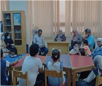بالصور.. متحف كفر الشيخ ينطم محاضرة لنشر الوعي الأثري والثقافي