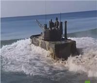 اختبار ناجح لدبابة «سبروت» الروسية الخفيفة العائمة.. فيديو