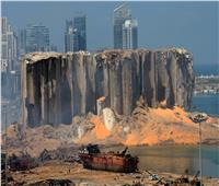 حريق جديد في مرفأ بيروت   صورة
