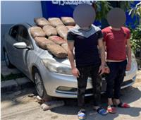 «كمين» يكشف تاجري مخدرات حاولا ترويج 50 كيلو بانجو بدمياط