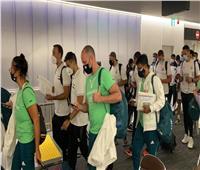 وصول منتخبي اليد والملاكمة والبعثة الطبية لليابان للمشاركة في أوليمبياد طوكيو