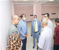 رئيس جامعة سوهاج يتابع التجهيزات النهائية لتشغيل المستشفى الجامعي الجديد