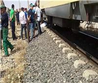 مصرع شاب على قضبان السكة الحديد بالبدرشين