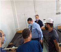 وكيل «صحة المنوفية» يتفقد سير العمل بمستشفى السادات المركزي