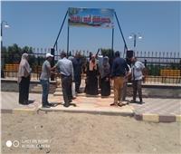 رئيس مدينة أشمون: الانتهاء من إنشاء حديقة أبو رقبة النموذجية