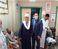 وكيل صحة المنوفية يتفقد مستشفى الرمد لمتابعة سير العمل