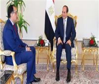 مدبولي يهنئ الرئيس السيسي بعيد الأضحى المبارك