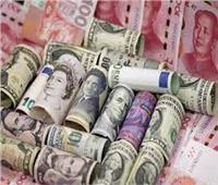 هبوط جماعي لأسعار العملات الأجنبية بداية تعاملات اليوم