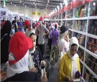 قبل العيد.. إقبال كثيف على معرض الكتاب | فيديو