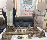 «الداخلية»  تضبط 100 طربة حشيش بقيمة 700 ألف جنيه قبل العيد