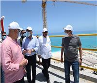 رئيس الوزراء يوجه بضغط معدلات التنفيذ في مشروعات العلمين الجديدة.. صور