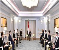 الرئيس السيسي لوزير خارجية الصين: موقف مصر ثابت بالحفاظ على أمنها المائي