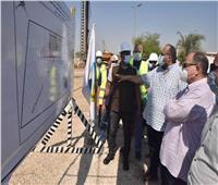 محافظ أسيوط يتفقد أعمال إنشاء مشروع توسعات محطة مياه أبوتيج
